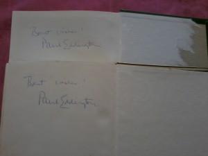 יס מיניסטר - הספרים החתומים
