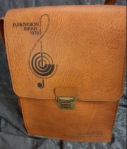 תיק עיתונות, אירוויזיון 1979 (אוסף פרטי)