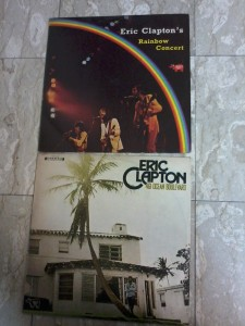 אריק קלפטון שני אלבומים חתומים