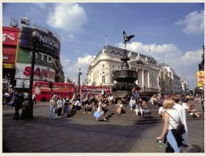 לונדון, כיכר פיקדילי (באדיבות בריטיש איירווייז)