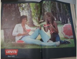 ששי קשת ויונה אליטן מפרסמים ליווייס להיטון 1974 מוגדל